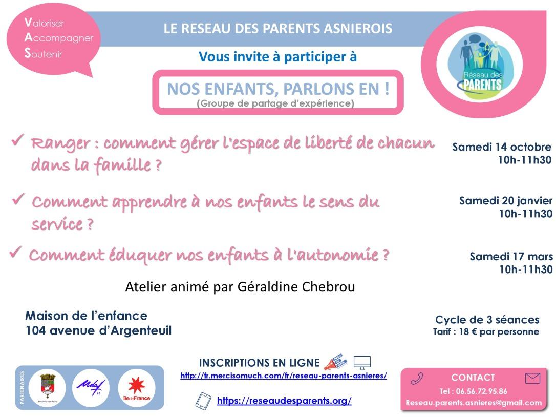 FLYER Nos Enfants Parlons en !-page-0