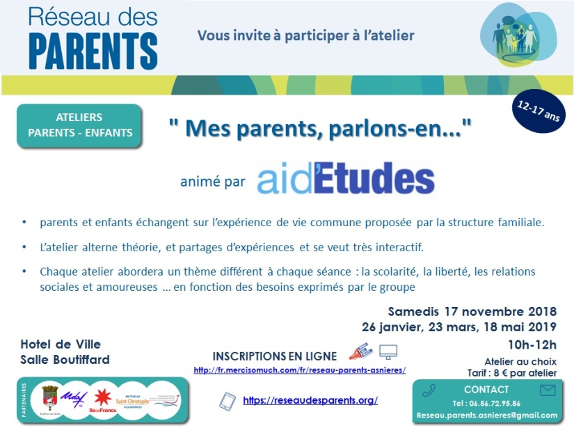 flyer Mes parents, parlons-en